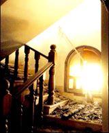 تعرض منزل حسام الدين التائب للسرقة والحرق