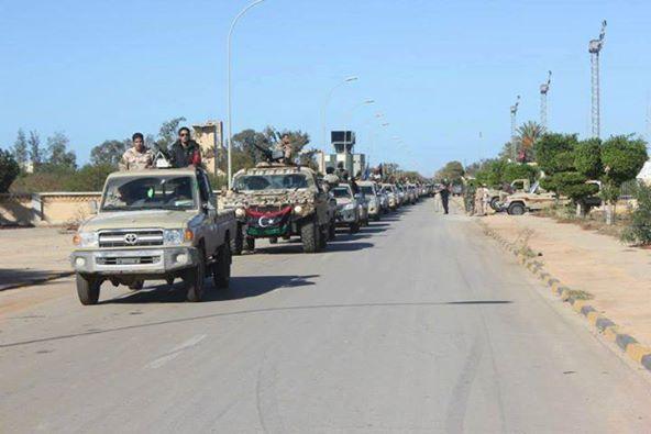 تقدم لقوات الجيش في بنغازي بكافة الجبهات بدعم من السلاح الجوي