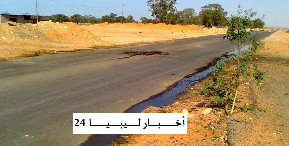 مكان تفجير السيارة في هرواة بنقطة أمنية