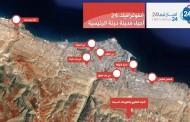 انفوغرافيك : خريطة للأحياء الرئيسية بمدينة درنة