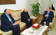 السيسي يؤكد دعم مصر الكامل لسيادة ليبيا