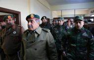 الناظوري يطلع على تجهيزات الكلية العسكرية في توكرة
