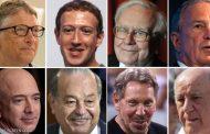 ثروات 8 أشخاص تعادل ما يملكه نصف سكان الأرض