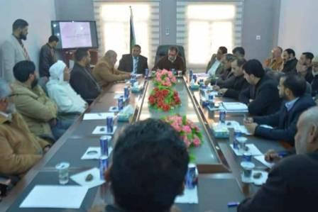رئيس الهيأة العامة للمواصلات يبحث إنشاء مطار في بلدية تازربو