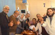الفنان صالح الأبيض يغادر مركز بنغازي الطبي
