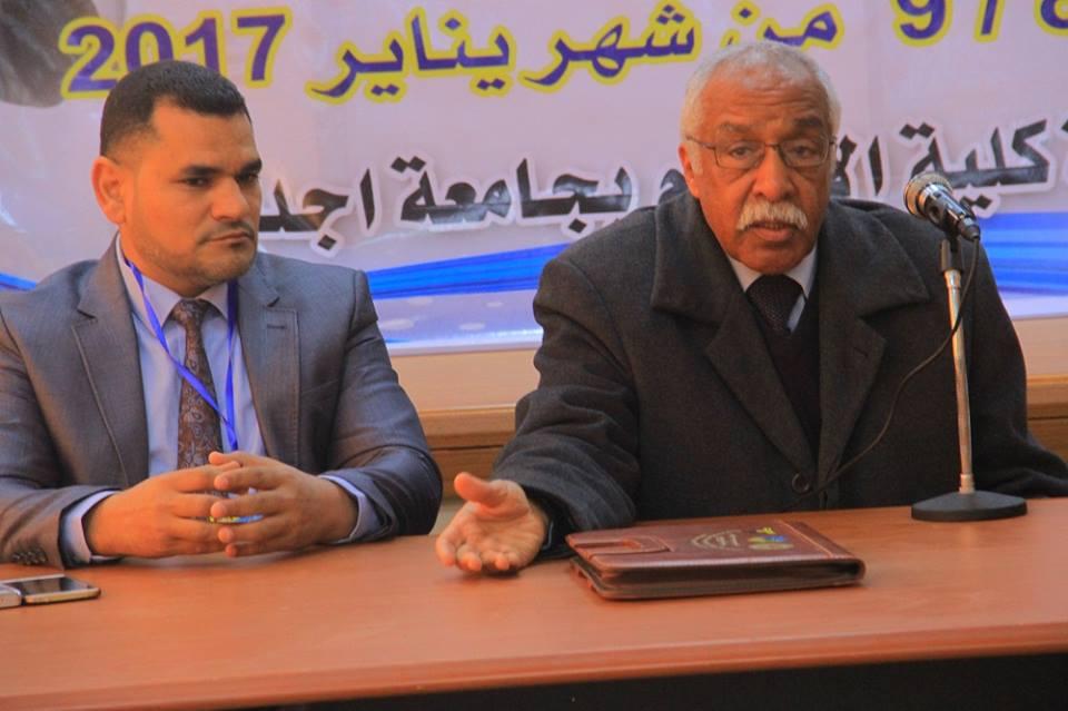 فيصل فخري يفتتح دورة للإعلام الرياضي باجدابيا