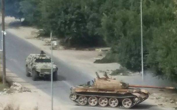 تواصل الاشتباكات في العاصمة طرابلس ومنع الهلال الأحمر من القيام بمهامه