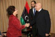 رئيس مجلس النواب الليبي يلتقي السفيرة الفرنسية بطبرق