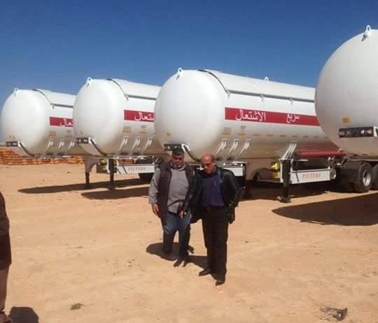 شركة البريقة تؤكد انضمام 4 مقطورات جديدة لنقل الغاز المسال إلى أسطولها