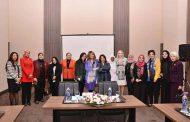 نيرمين الشريف المساعد الأول لأمين لجنة شؤون عمل المرأة العربية