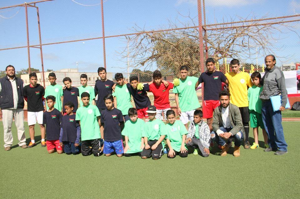 اختتام مسابقات كرة القدم للتعليم الحر  في بنغازي