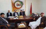 وزير الحكم المحلي يناقش نقص المياه في بلدية أم الرزم