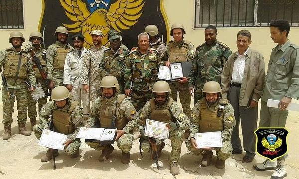 تخريج دفعة جديدة من القوات الخاصة في مجال عمليات الاقتحام