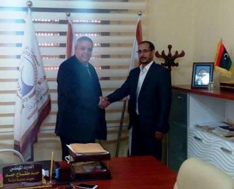 النائب خيرالله التركاوي يناقش عدد من القضايا التي تخص بلدية درنة