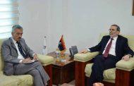 صنع الله يبحث مع السفير البريطاني لدى ليبيا آفاق التعاون والمشاكل التي تواجه قطاع النفط