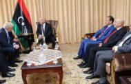 صالح وجونسون بحثا مستجدات الشأن السياسي الليبي ورؤية مجلس النواب حول الوفاق