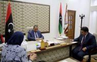 رئيس الوزراء يناقش مع القائمة بأعمال السفارة الروسية دعم السلطات الشرعية في ليبيا