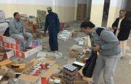 الشؤون الاجتماعية اجدابيا توزع سلات غذائية رمضانية على النازحين