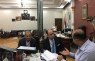 رئيس الغرفة التجارية الليبية المصرية يناقش مع محافظ مطروح تفعيل تجارة الترانزيت
