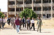 عقوب يطلع على آخر أعمال الصيانة في جامعة بنغازي