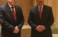 حفتر يلتقي السراج في أبوظبي