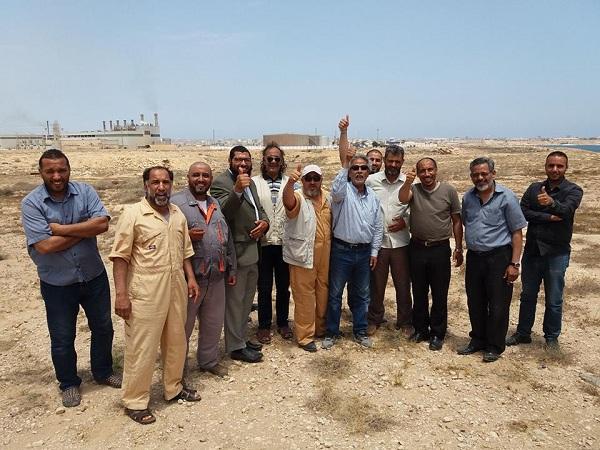 المجتمع المدني بطبرق يطالب شركة الخليج بالموافقة على الأرض التي اختارتها الكهرباء لبناء محطة غازية