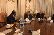 رئيس الغرفة التجارية الليبية المصرية يبحث تفعيل اتفاقية تجارة