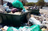 مشكلة تراكم أكياس القمامة تطفو على السطح مجددًا في بنغازي