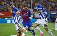 برشلونة ينهي مغامرة ألافيس ويتوج بلقب كأس ملك إسبانيا