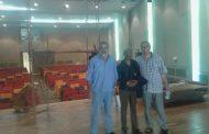 إدارة المسرح الشعبي بنغازي تستلم مبنى المسرح من القوات المسلحة