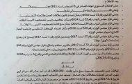 الحكومة المؤقتة تُوافق عَلى تَخصيص مَبلغ مَالي لتغطية مكافآت غير العاملين بمعهد علي الشعالية