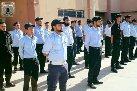 بدء دورات الترقية للضباط وضباط الصف والأفراد التابعين لمديرية أمن المرج لعام 2017