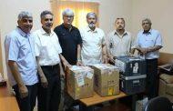 جامعة بنغازي تتسلم معدات وأجهزة لقياس واستشعار الزلازل من جامعة مبزوري الأمريكية