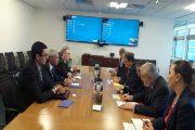 صنع الله يجتمع مع رئيس برنامج الأمم المتحدة الانمائي في نيويورك
