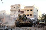 الزوي: القوات الخاصة تسيطر على كامل المنطقة خلف أقواس الفندق البلدي ببنغازي