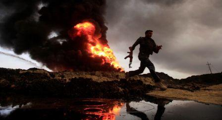 تنظيم داعش الإرهابي يجرد الأوطان من خيراتها وثرواتها ويتركها أرض قاحلة