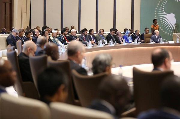 انطلاق أعمال القمة الإفريقية حول ليبيا في برازافيل