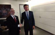 رئيس المؤسسة الوطنية للنفط يبحث مع وزير الطاقة الروسي سبل التعاون المشترك