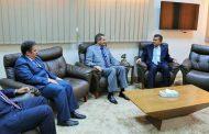 الدايري يبحث مع عميد بلدية بنغازي اعادة افتتاح القنصليات