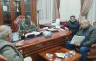 بوخمادة يجتمع مع مصلحة الأحوال المدنية ويطالبهم بعدم التهاون حول أي تهديد للهوية الليبية