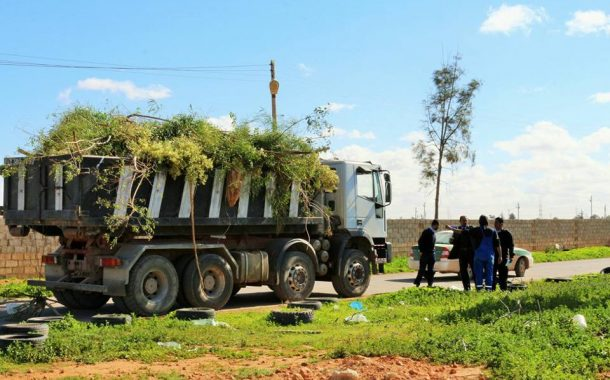 استمرار حملات ودوريات الشرطة الزراعية في بنغازي