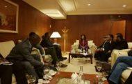 الوطنية لحقوق الإنسان تبحث مع مفوضية الاتحاد الأفريقي ملف الهجرة غير الشرعية