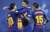 برشلونة يعزز صدارته برباعية في شباك سوسيداد